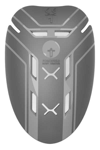 Forcefield Isolator Level 1 Schulter Protektor Einsatz schwarz