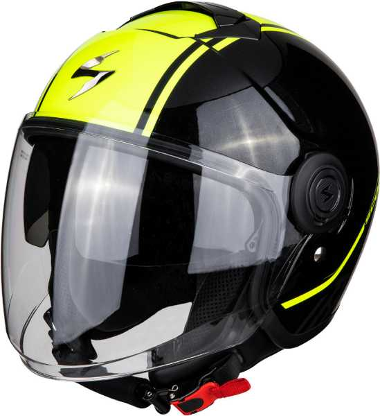 Scorpion EXO-CITY Avenue Jet Helm metall-neon