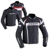 Ixon Fueller Lederjacke schwarz 2XL