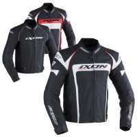 Ixon Fueller Lederjacke schwarz  M