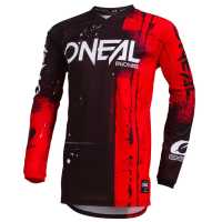ONEAL Element Kinder Jersey SHRED rot