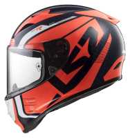LS2 Arrow C Evo Sting FF323 Carbon Sport Integralhelm blau-neonorange