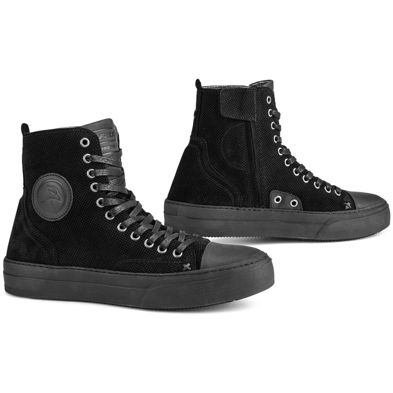 falco lennox motorrad sneaker damen schwarz cs bikewear. Black Bedroom Furniture Sets. Home Design Ideas