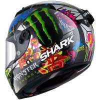 Shark Race-R Pro Carbon Replica Lorenzo Catalunya Gp Racing Helm silber-rot-grün