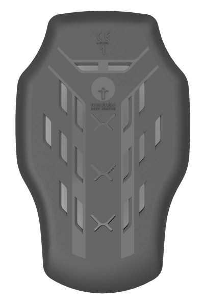 Forcefield Isolator Level 1 Rücken Protektor Einsatz schwarz