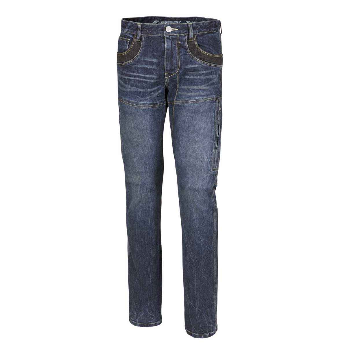 germot jump motorrad jeans herren lang blau cs bikewear. Black Bedroom Furniture Sets. Home Design Ideas