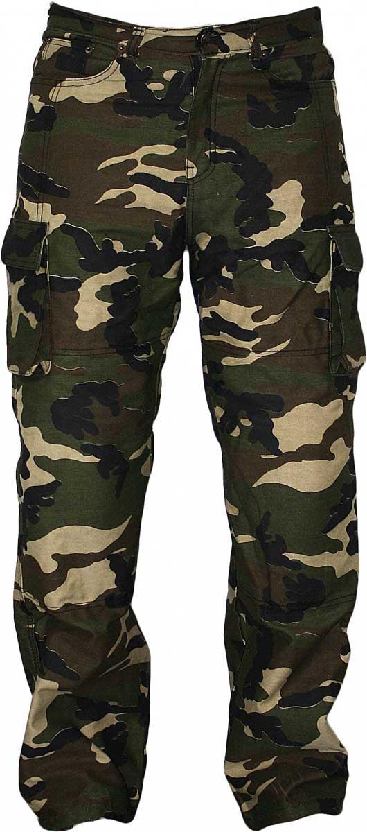 kevlar jeans motorrad jeans mit cargotaschen camouflage. Black Bedroom Furniture Sets. Home Design Ideas