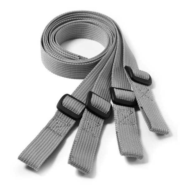 KRIEGA SUBFRAME Loop Set 4 Stück silber