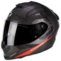 Scorpion EXO-1400 Carbon Air Pure Integral Helm neonrot