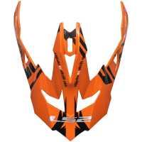 Ersatzschild für LS2 Subverter Emperor schwarz-orange