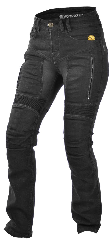 trilobite parado kevlar jeanshose damen schwarz cs bikewear. Black Bedroom Furniture Sets. Home Design Ideas