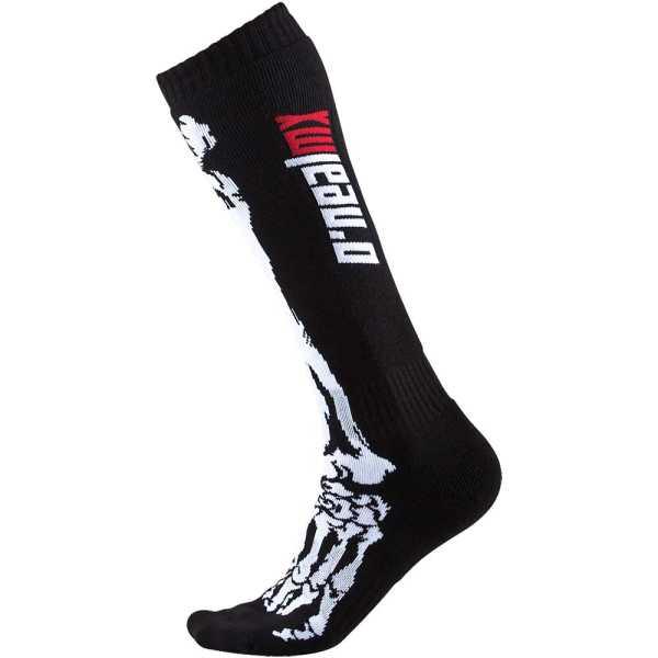 ONEAL Pro MX Socken XRay schwarz-weiß