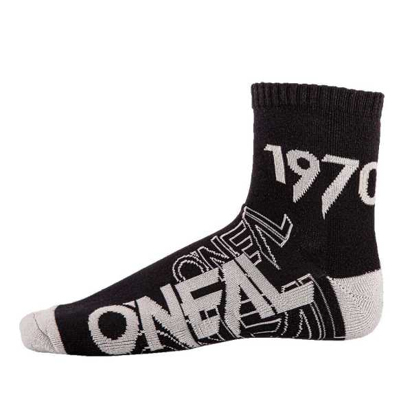 ONEAL Crew Socken schwarz-grau
