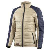 Trilobite Tuscan Jacke Damen beige-blau