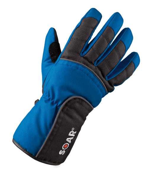 Scooterhandschuh schwarz-blau