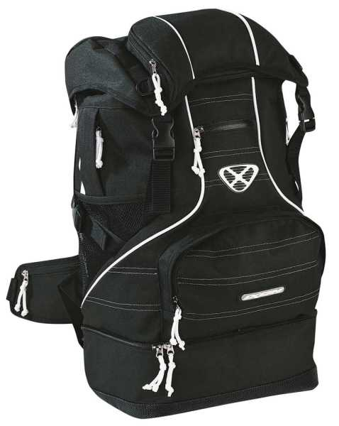 Ixon X-Ceed Touren Rucksack schwarz-weiß