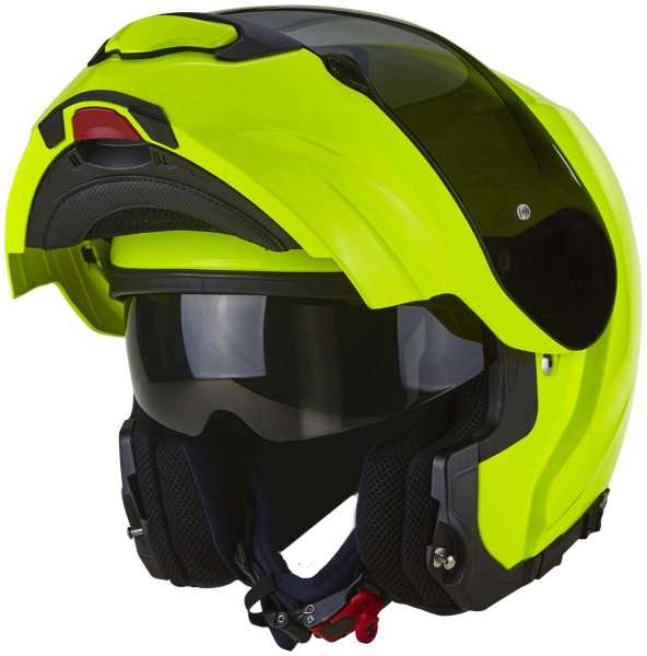Scorpion EXO-3000 Air Solid Klapp Helm neongelb