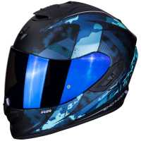 Scorpion EXO-1400 Air SYLEX Integral Helm matt-schwarz-blau