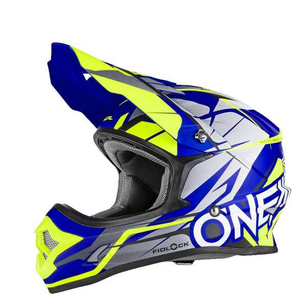 Oneal 3Series Fidlock Motocross Helm Freerider matt