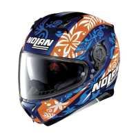 Nolan N87 Gemini Replica N-Com Integralhelm Petrucci cayman-blue