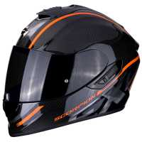 Scorpion EXO-1400 Carbon Air GRAND Integral Helm orange