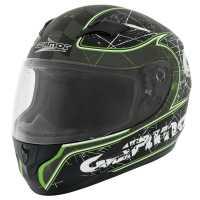 Germot GM 305 Integralhelm matt-schwarz-grün