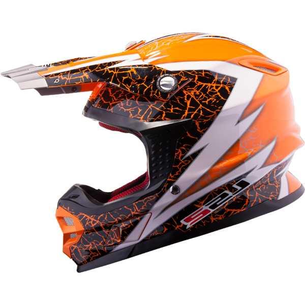 LS2 MX456.32 Craze Orange Gr. L (59/60)