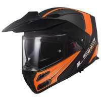 LS2 Metro Evo PJ Rapid FF324 Enduro Klapphelm matt-schwarz-orange