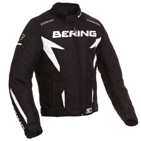 Bering Fizio Motorradjacke schwarz-weiß