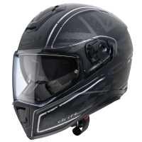Caberg Drift Armour Helm matt-schwarz-grau