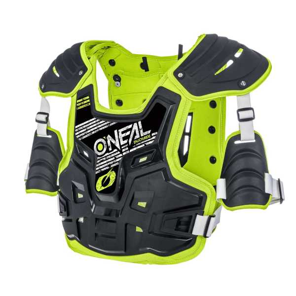 ONEAL PXR Stone Shield Motocross-Panzer neongelb