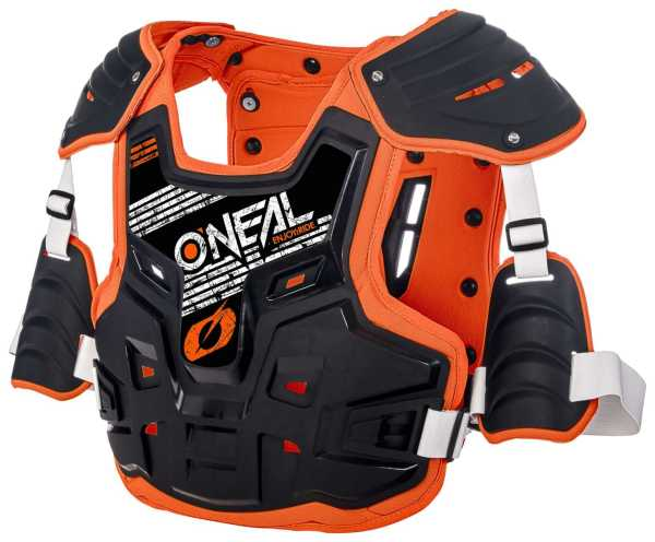 ONEAL PXR Stone Shield Motocross-Panzer schwarz-orange
