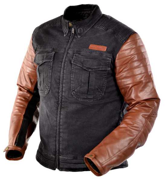 Men's Clothing Pants Trilobite Acid Scrambler Schwarz Herren Motorradhose Jeanshose Länge 32 Aramid