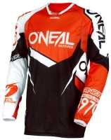 ONEAL Hardwear Flow True Motocross Jersey orange-weiss