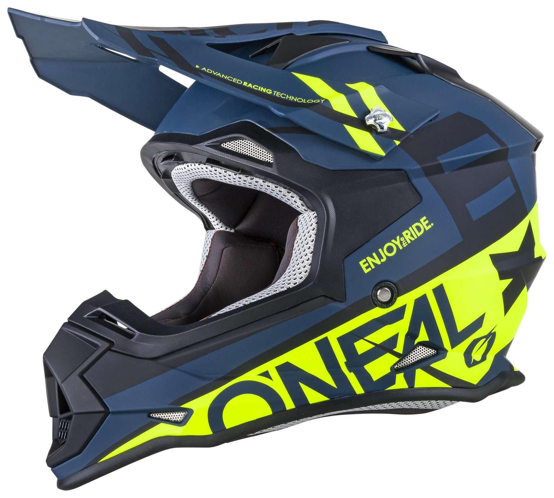 oneal 2series rl spyde motocross helm neongelb cs bikewear. Black Bedroom Furniture Sets. Home Design Ideas