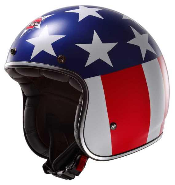 LS2 OF 583 Easy Rider Fiberglas Jethelm Modell 2015