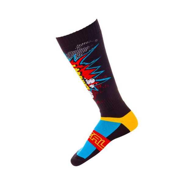 ONEAL Pro MX Socken Braaapp schwarz-multi