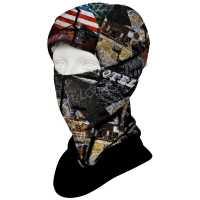 HAD Mask Route 66 Sturmhaube mit Fleece