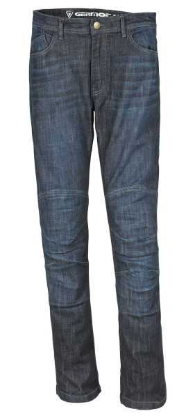 Germot Jack Motorrad Jeans Herren lang blau