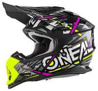 ONEAL 2Series SYNTHY Kinder Motocross Helm pink-gelb