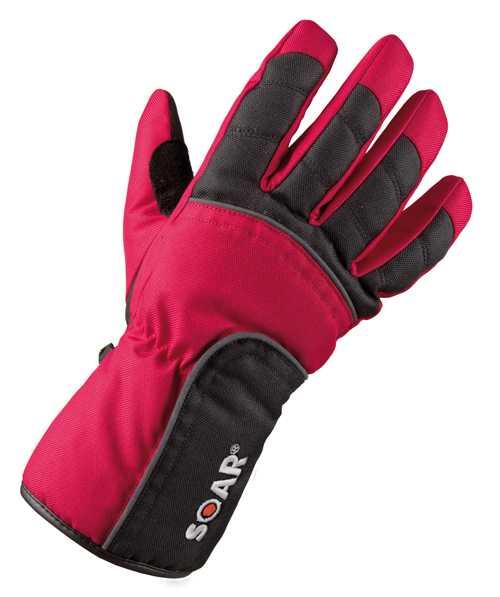 Scooterhandschuh schwarz-rot