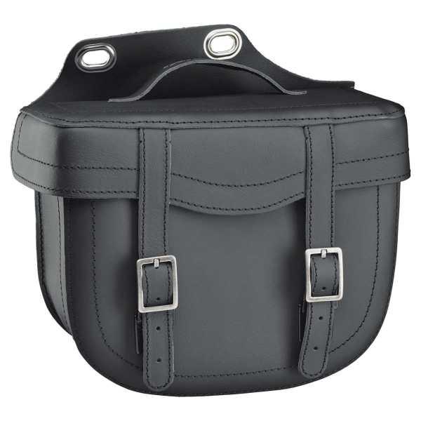 HELD Cruiser Bulb Bag Satteltasche aus Leder