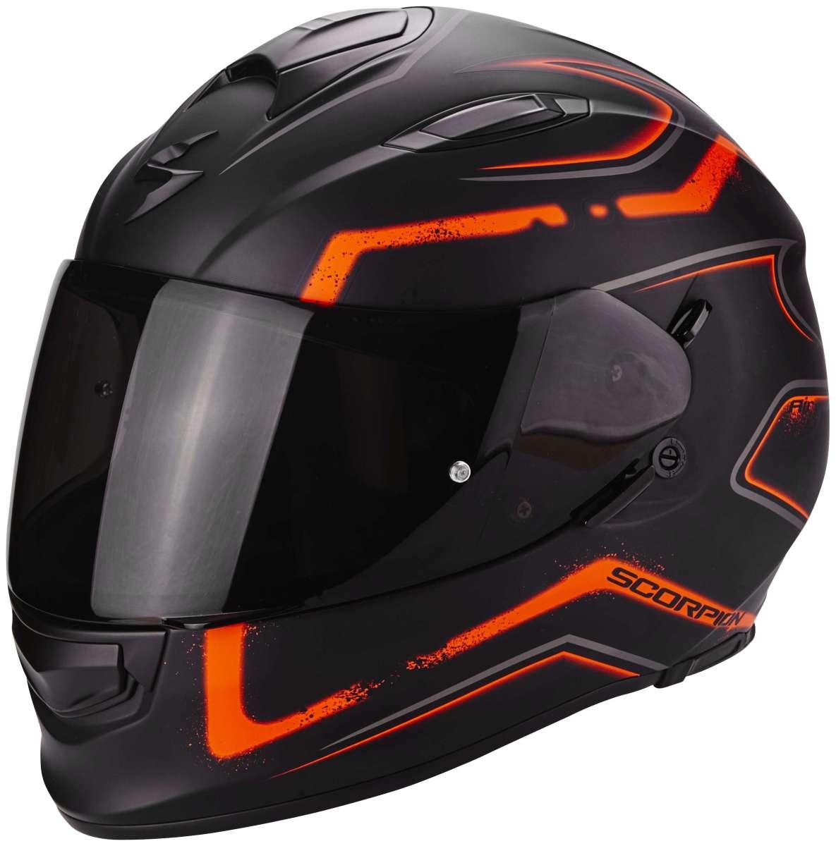 scorpion exo 510 air radium integralhelm matt schwarz orange cs bikewear. Black Bedroom Furniture Sets. Home Design Ideas