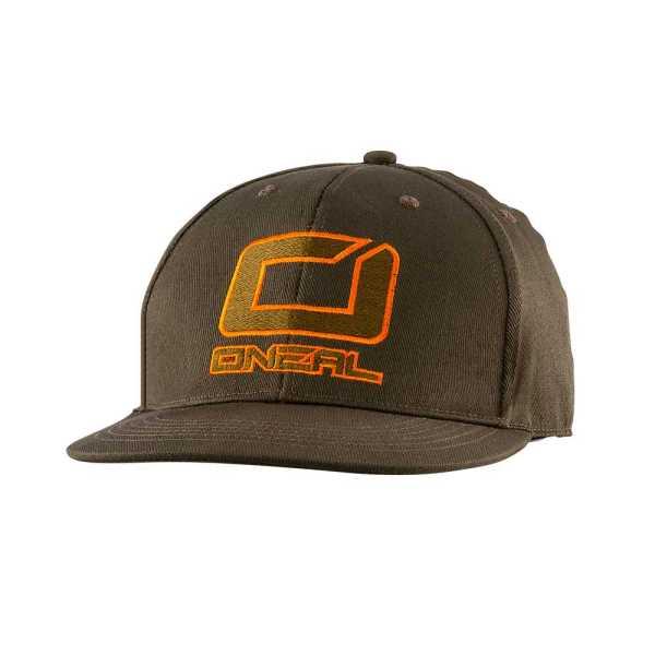 ONeal Logo Cap oliv-orange