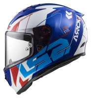LS2 Arrow R Evo Techno FF323 Sport Integralhelm weiß-blau