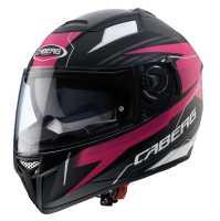 Caberg Helm EGO Quartz matt-schwarz-pink