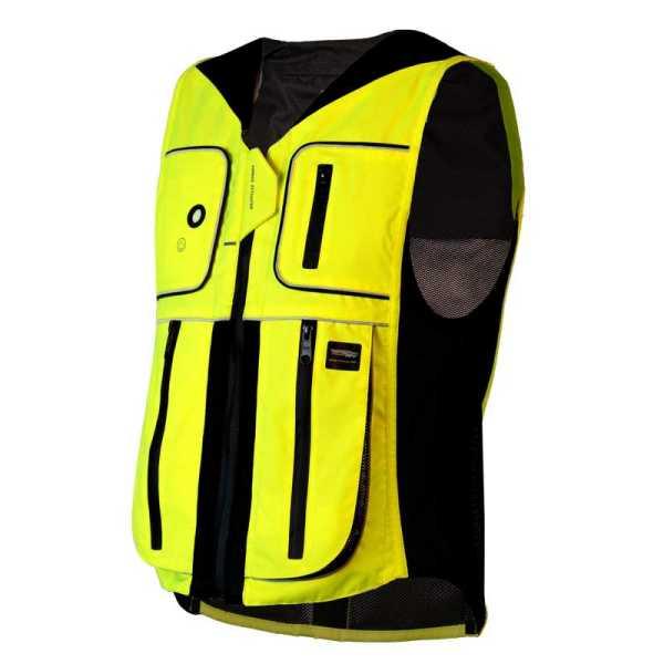 Helite B'Safe Airbag für Radfahrer neongelb