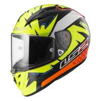 LS2 Arrow R Evo Volt FF323 Sport Integralhelm neongelb-orange