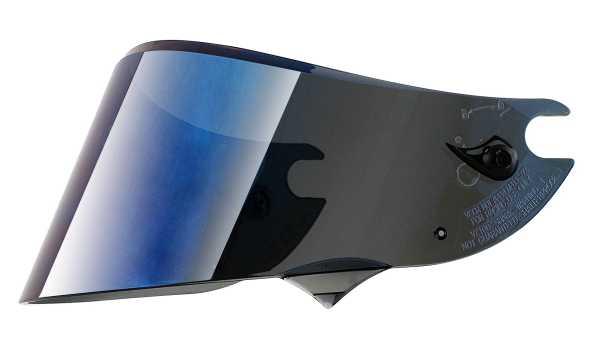 Visier blau verspiegelt Shark Race-R PRO, Race-R und Speed-R