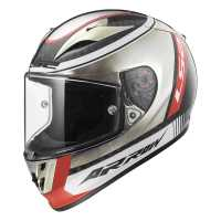 LS2 Arrow C Evo Indy Carbon FF323 Sport Integralhelm chrome-schwarz-rot